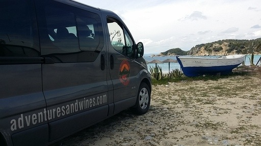 Armenistis camping transportation services